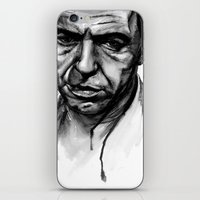 frank sinatra iPhone & iPod Skins featuring Only the Lonely - Frank Sinatra by Tiffany Tate