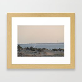 Lazy hazy day Framed Art Print