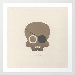 Nick Fury Art Print
