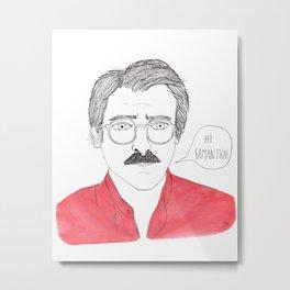 Her - Joaquin Phoenix Metal Print
