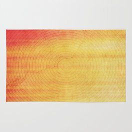 Color Burst - Sunset Ring Rug