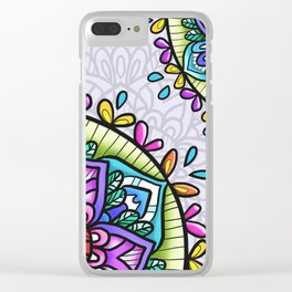 Jolly Ride Clear iPhone Case