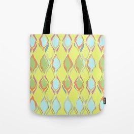 Pastel patterned Tote Bag
