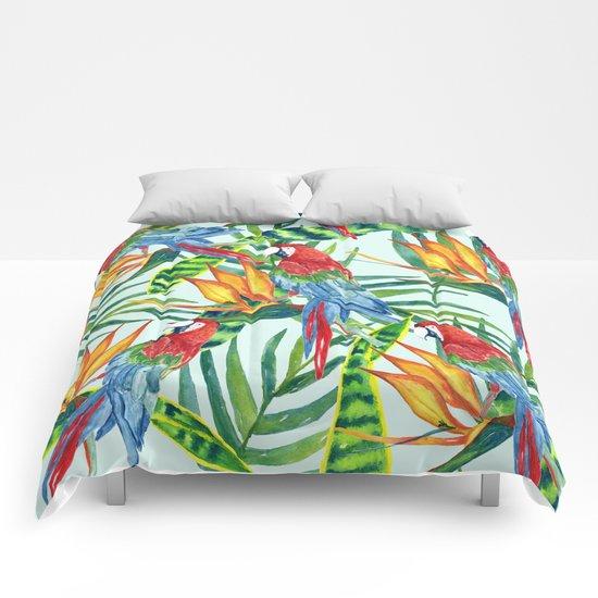 Tropical Summer #5 Comforters