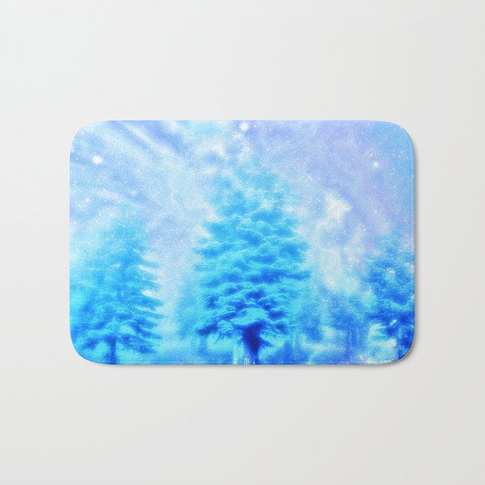 winter sky Bath Mat