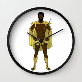Gladiator Warrior Strength Wall Clock
