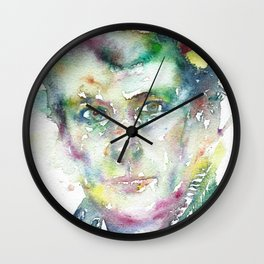 LUCIAN FREUD Wall Clock