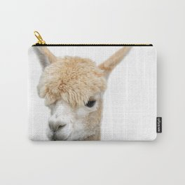 Fawn Alpaca Carry-All Pouch