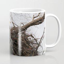 Bald Eagle on a Nest Coffee Mug