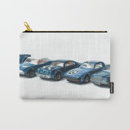 Ready to Race - Retro Toy Cars Carry-All Pouch