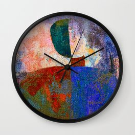 Malevich 3 Wall Clock