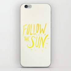 Follow the Sun iPhone & iPod Skin