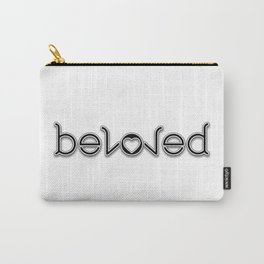 BELOVED ambigram Carry-All Pouch