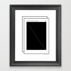 DIN Rules .  Framed Art Print