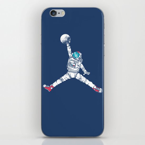 Space dunk iPhone Skin