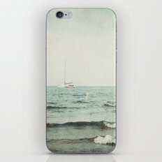 Smooth Sailing iPhone & iPod Skin