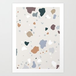 Pistachio Ice Cream Art Print