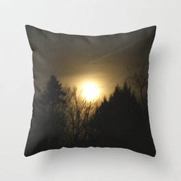 The Perfect Moon Throw Pillow
