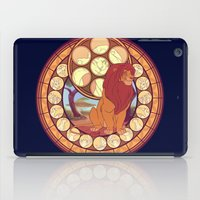 simba iPad Cases featuring Simba by NicoleGrahamART