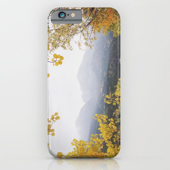 Fall Frame iPhone & iPod Case