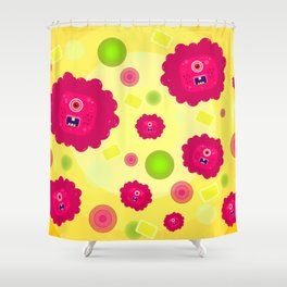 Germs Shower Curtain