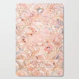 Peachy Marble (foor) Cutting Board