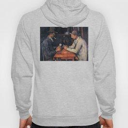 Paul Cézanne - The Card Players Hoody