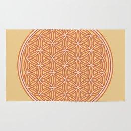 Sacred Geometry Fire II Rug