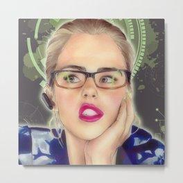 Felicity - vigilante Metal Print