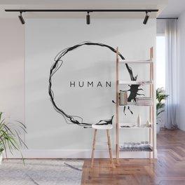 HUMAN Wall Mural