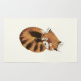 Baby Red Panda (Off-White) Rug