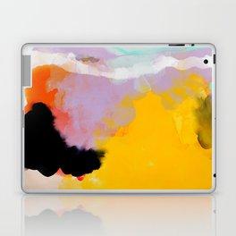 yellow blush abstract Laptop & iPad Skin