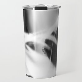 Neuron - Black and White Abstract Travel Mug