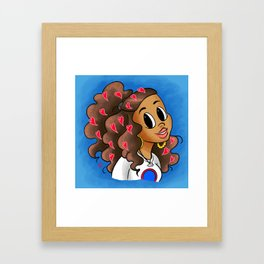 Love Your Vibe Framed Art Print