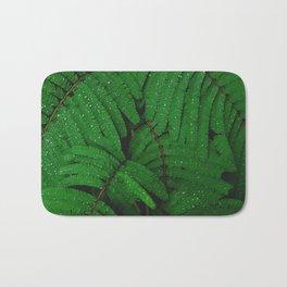 green leaves #society6 #decor #buyart Bath Mat