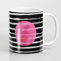dot Mugs featuring Dot by Elisabeth Fredriksson