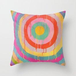 Wet Paint Throw Pillow