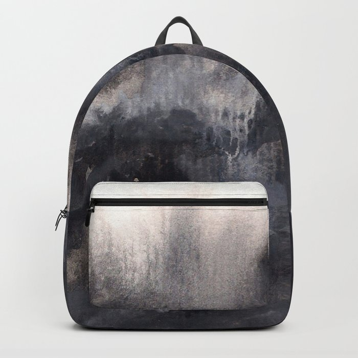 Watercolor abstract landscape 17 Backpack