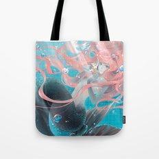 pool mermaid Tote Bag