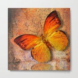 butterfly vintage  Metal Print