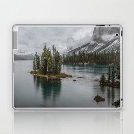 Landscape Maligne Lake Photography   Alberta   Canada Laptop & iPad Skin