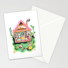 Rebecca Rabbit, Her House, and Her Belongings Stationery Cards