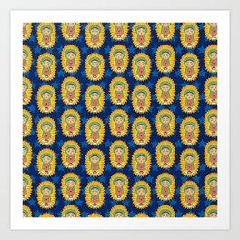 LaVirgencita Art Print