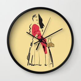 Taco Belle Wall Clock
