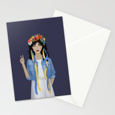 Jean Jacket Ukrainian Stationery Cards