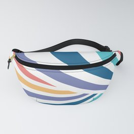 Marble // Retro Rainbow Stripes Fanny Pack