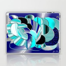 Blueness Laptop & iPad Skin