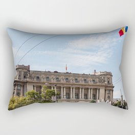 Roumania, National Military, Bucarest Rectangular Pillow