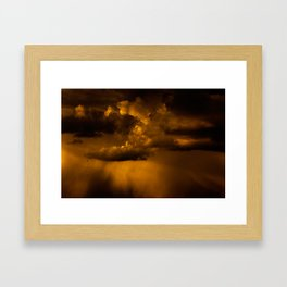 Gloomy Sky 0006 Framed Art Print