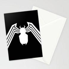 Symbiote Spider man Stationery Cards